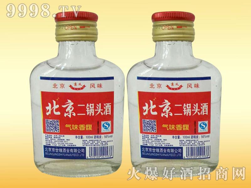 京义北京二锅头酒100ml(白)