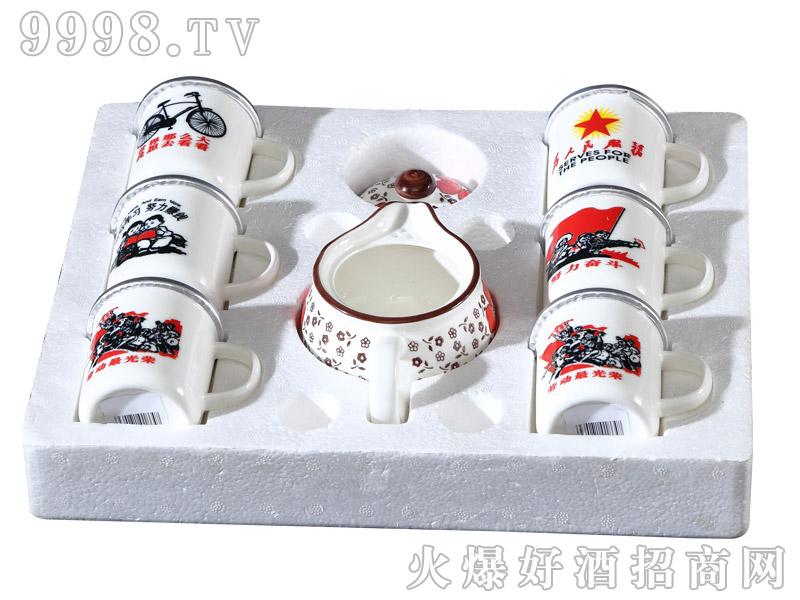 年代故事酒迷你陶瓷杯礼盒