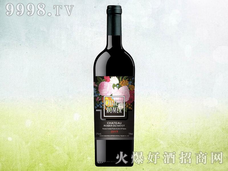 罗曼莱玫瑰干红葡萄酒