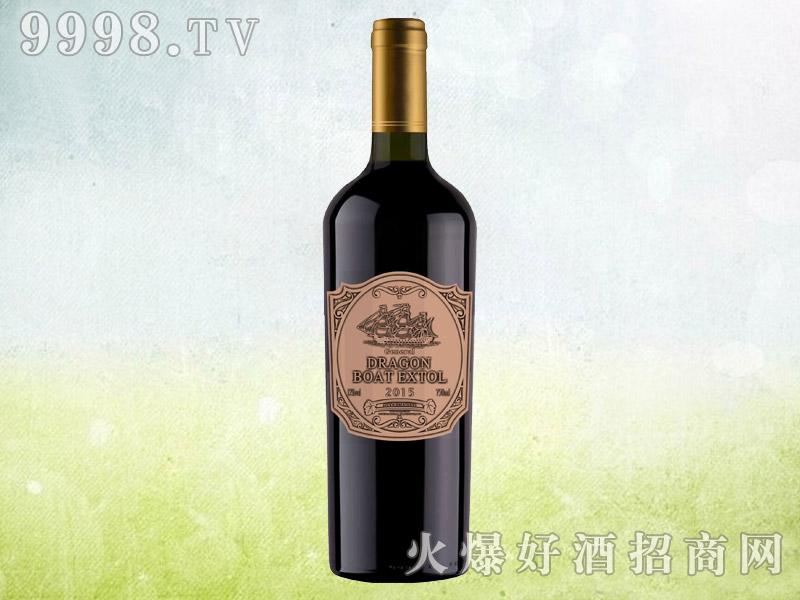 龙船颂将军干红葡萄酒