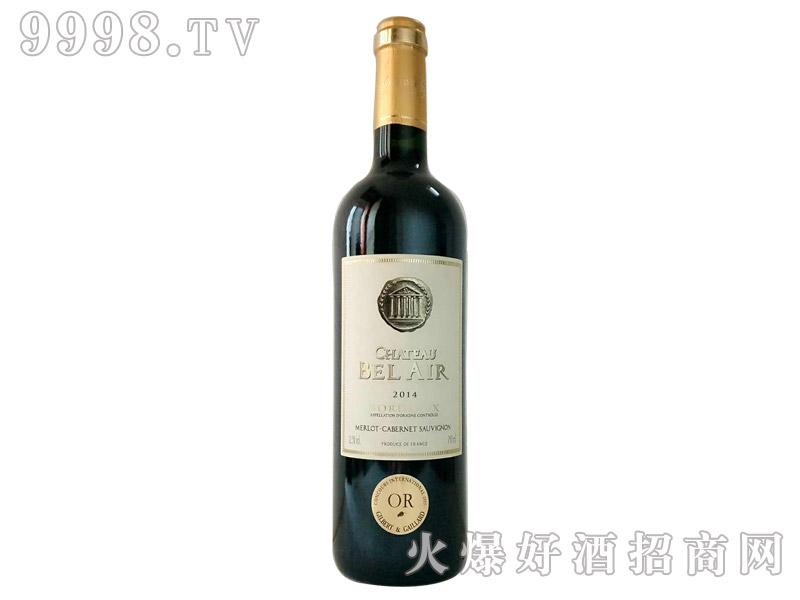 贝尔城堡干红葡萄酒