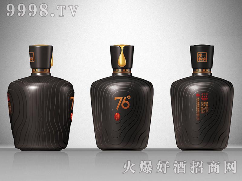 滏阳河老白干酒76°黑陶瓶