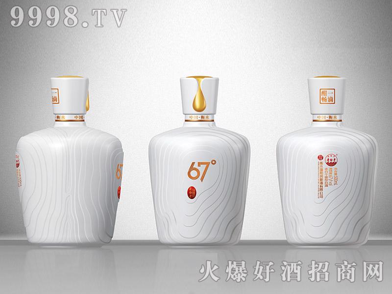 滏阳河老白干酒67度白瓷瓶