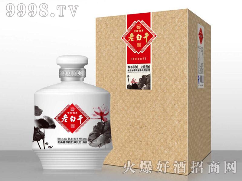 滏阳河老白干酒荷花(浓香型)