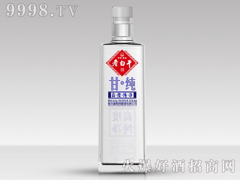 滏阳河老白干酒39°甘纯(高度纯净)