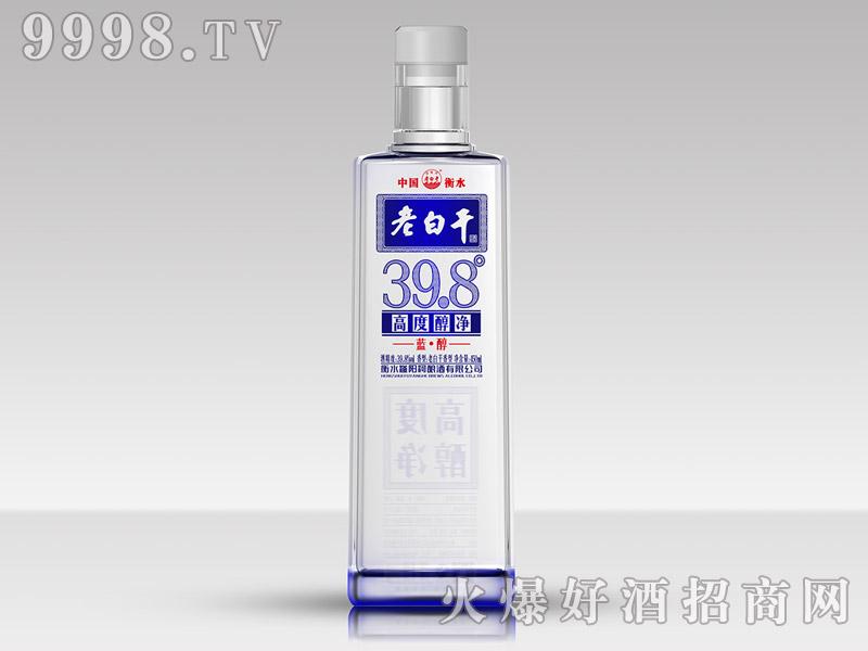 滏阳河老白干酒39.8°蓝醇(高度醇净)