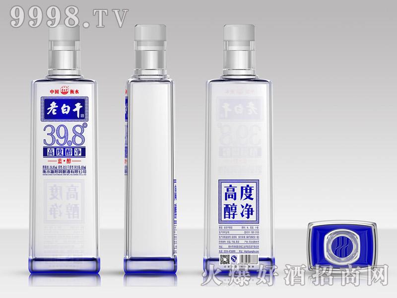 滏阳河老白干酒39.8°蓝醇