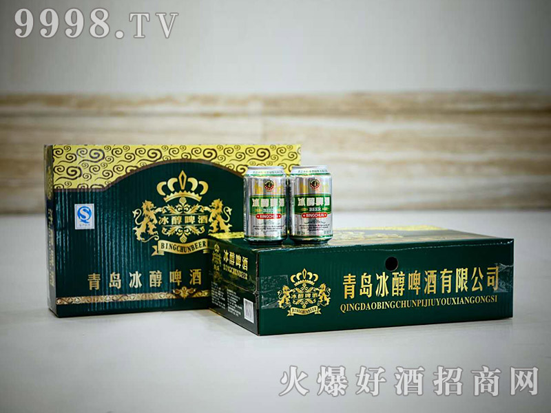 青岛冰纯啤酒(罐)
