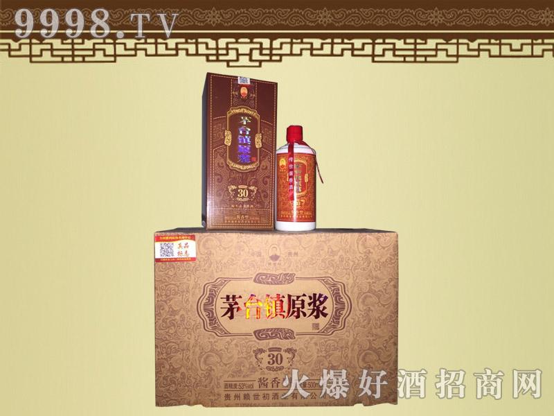 赖世初茅台镇原浆酒酱香型30