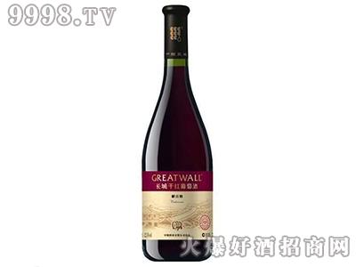 长城钻石优选解百纳干红葡萄酒大肚瓶