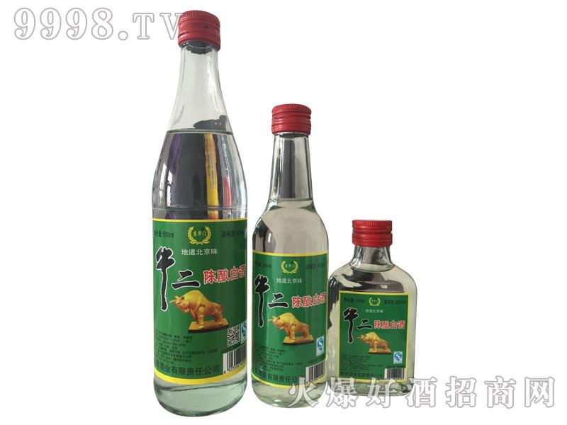 京华门牛二陈酿白酒42°