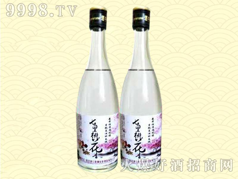 七里桃花香酒(光瓶)