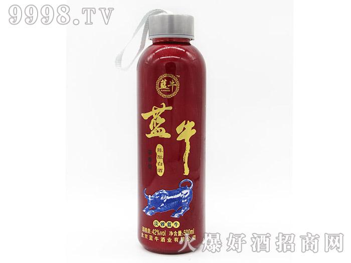 42°淡雅蓝牛陈酿白酒500ml(红瓶)