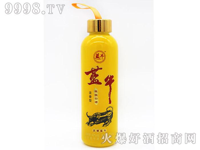 42°淡雅蓝牛陈酿白酒500ml(黄瓶)