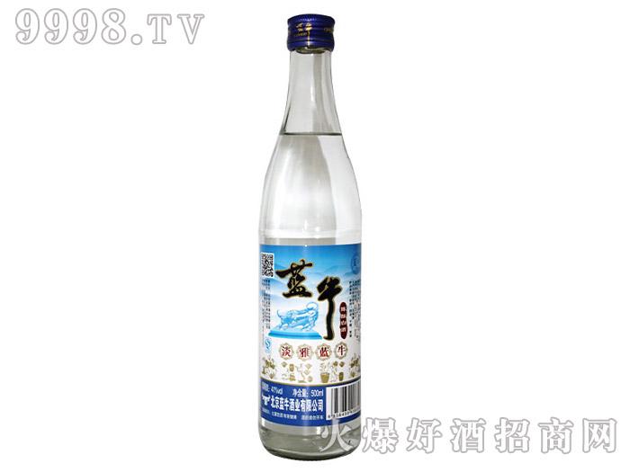 41°淡雅蓝牛陈酿光瓶酒500ml