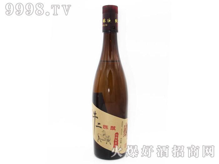 42°蓝牛牛二陈酿白酒480ml