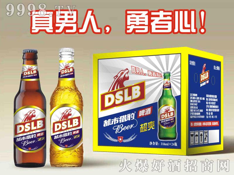 都市猎豹啤酒316mlx24瓶