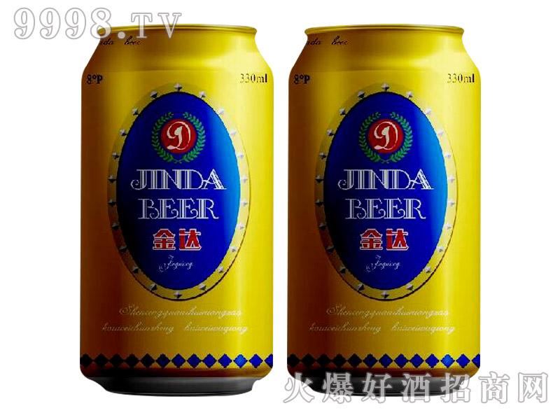 8°P雪野金达啤酒330ml