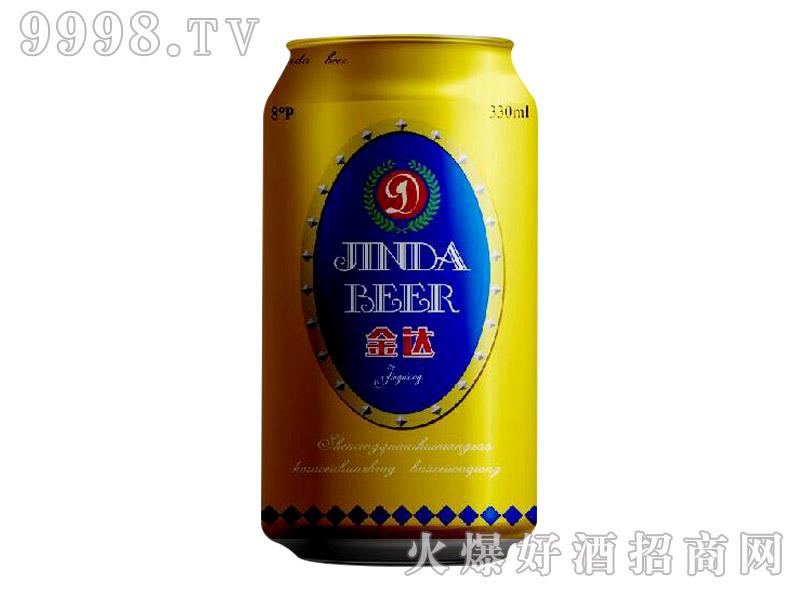 8°P雪野金达啤酒