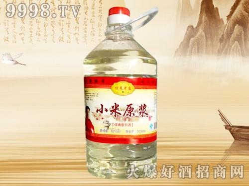 八大缸小米原浆酒42度2L