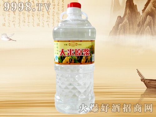 八大缸大米原浆酒(桶装)