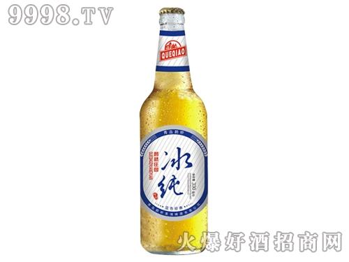 青岛鹊桥啤酒瓶装330ml