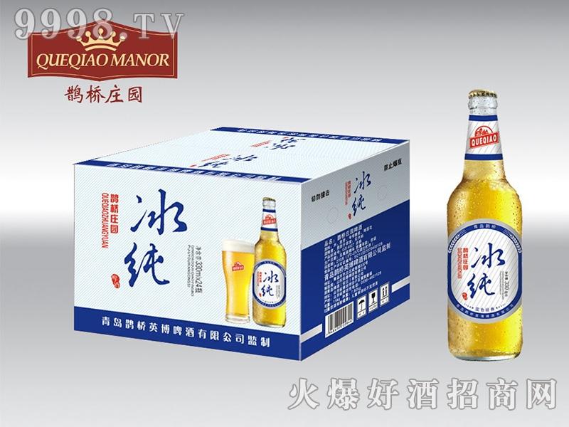 青岛鹊桥啤酒330ml×24