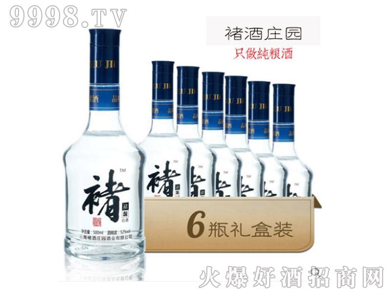 褚酒庄园褚源白酒500ml52°1×6瓶