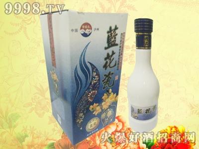 梦瑶春酒蓝花瓷