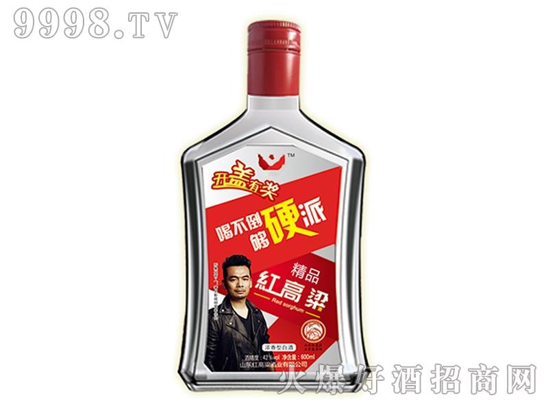 红高粱酒硬派精品600ml
