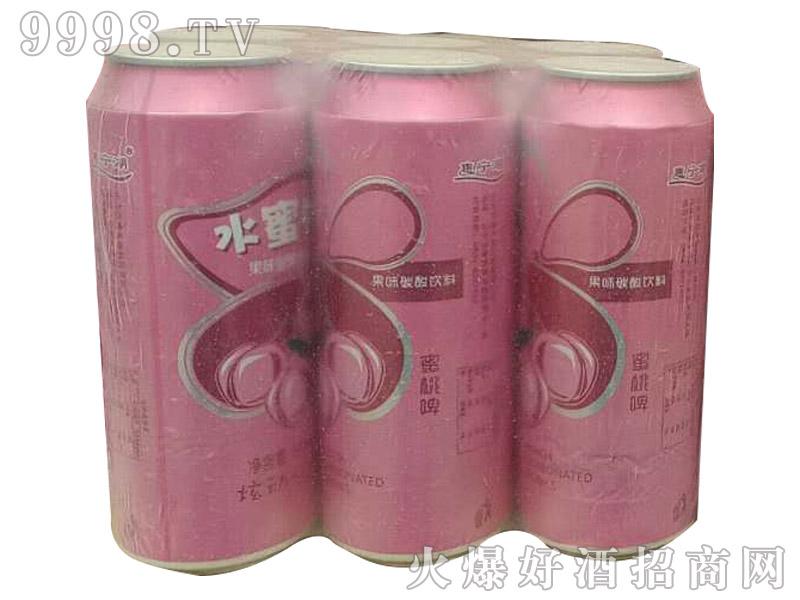 水蜜桃碳酸饮料