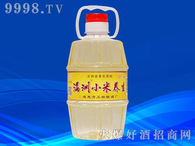 满洲小米养生酒4L桶装