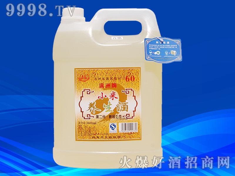 满洲小米养生酒60桶装