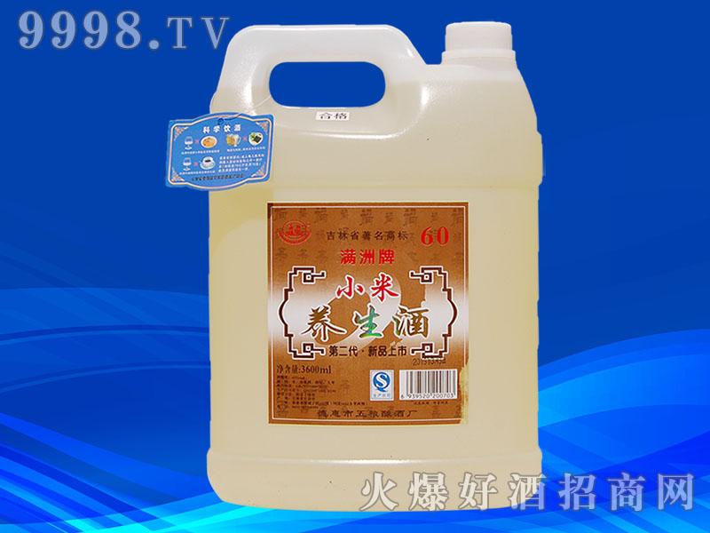 满洲小米养生酒3600ml桶装