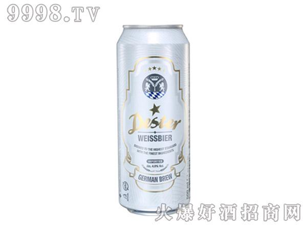 德星啤酒小麦白啤酒500ml听装