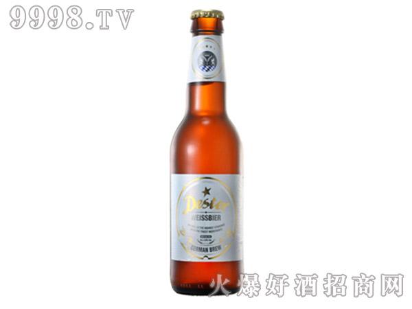 德星啤酒小麦白啤酒330ml瓶装