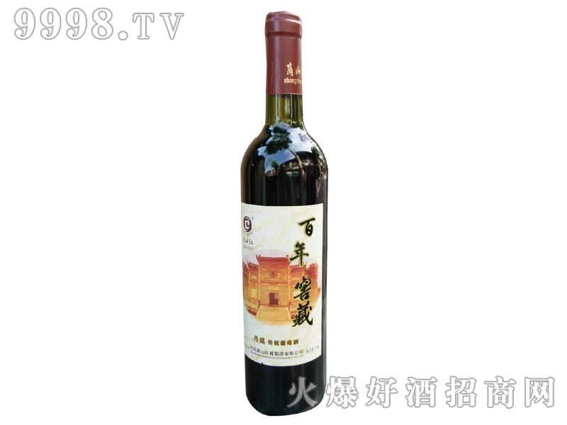商山红百年窖藏红葡萄酒单支装