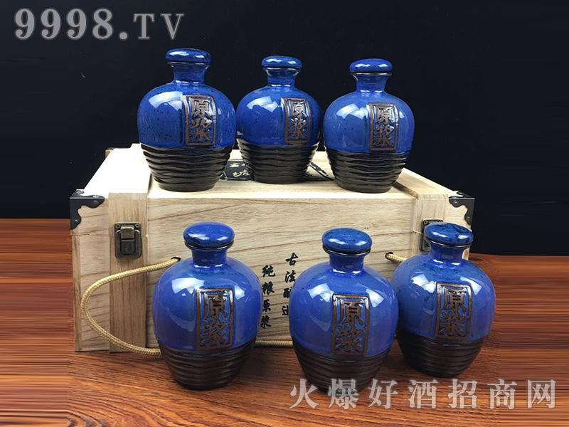 金酱百年坛子酒・兰原浆(木箱)