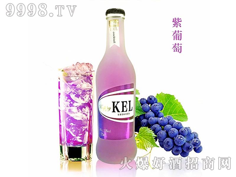 酷儿乐鸡尾酒紫葡萄