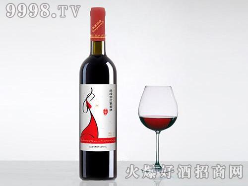 绿缇甜红葡萄酒