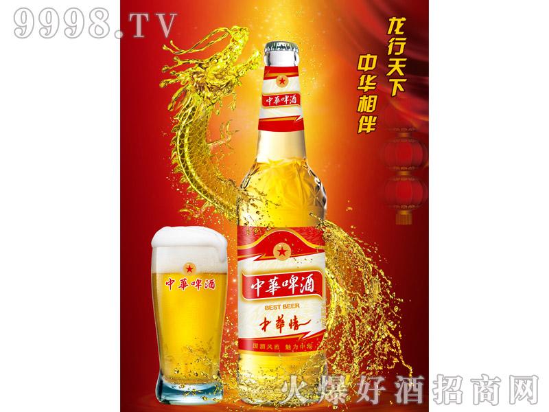 500ml中华啤酒(中华情)