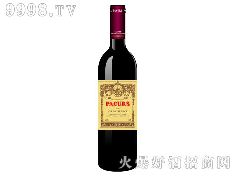 柏翠堡副牌斐蓝德康帝优选干红葡萄酒2015