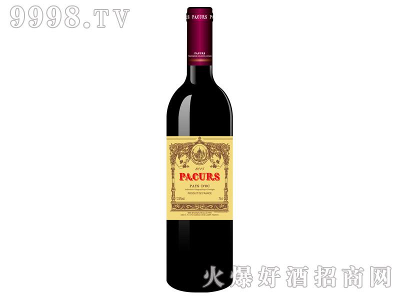 柏翠堡副牌斐蓝德康帝城堡干红葡萄酒2015