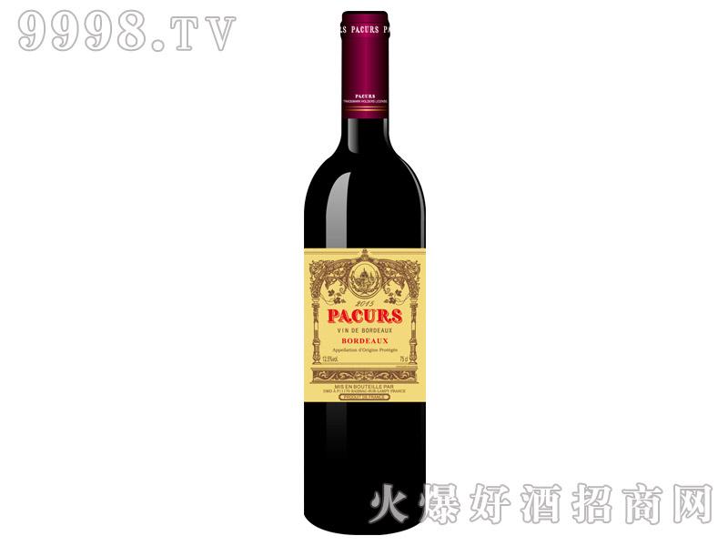 柏翠堡副牌波尔多干红葡萄酒2015