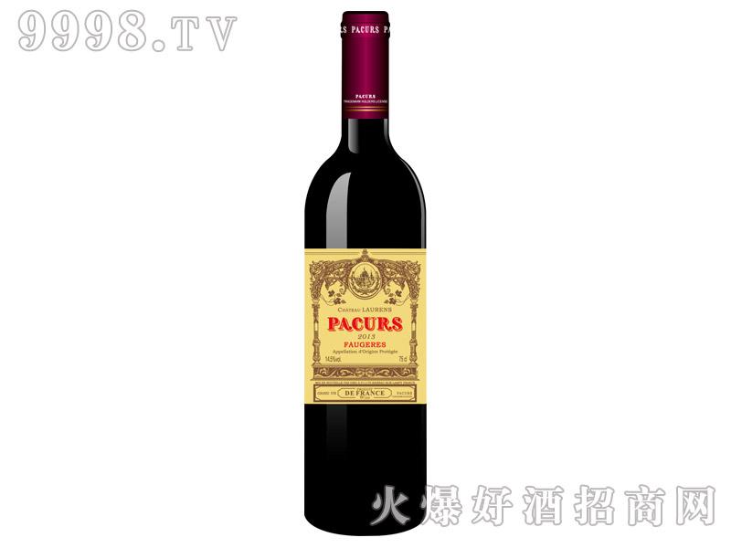 柏翠堡副牌(酒庄酒)特酿干红葡萄酒2013