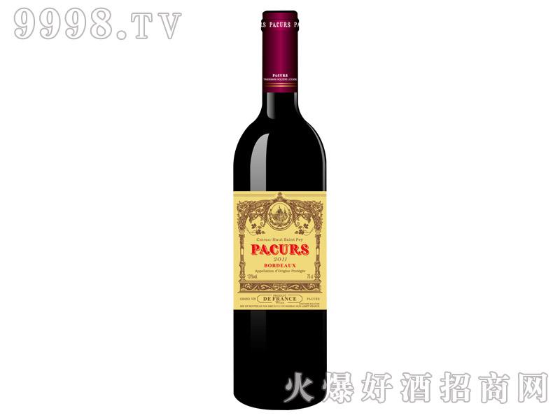 柏翠堡副牌波尔多(酒庄酒)干红葡萄酒2011