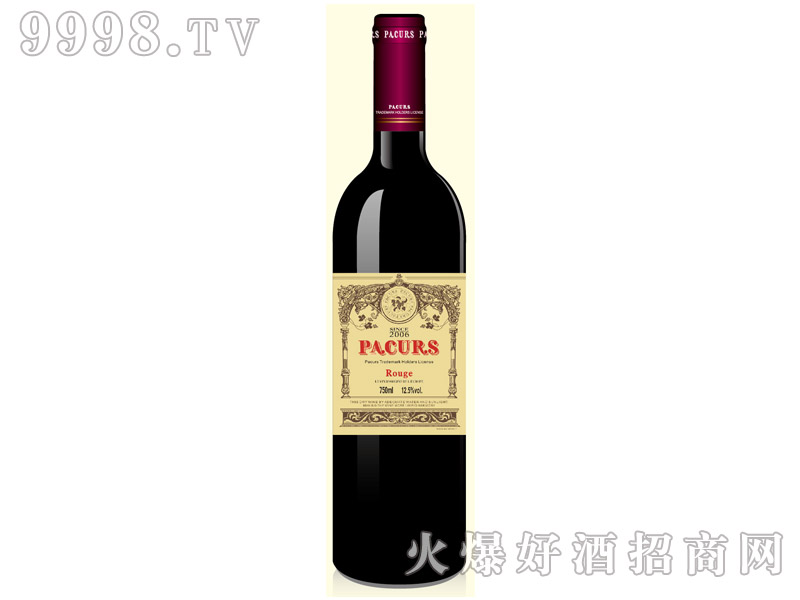柏翠堡副牌特酿珍藏干红葡萄酒
