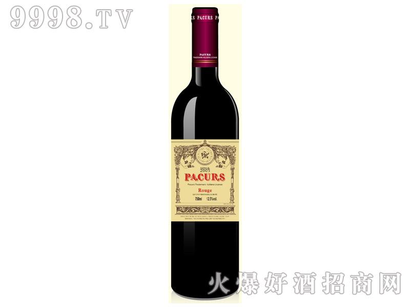 柏翠堡副牌陈酿珍藏干红葡萄酒