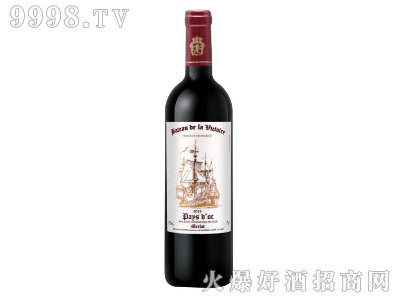 法国-胜利之帆红葡萄酒