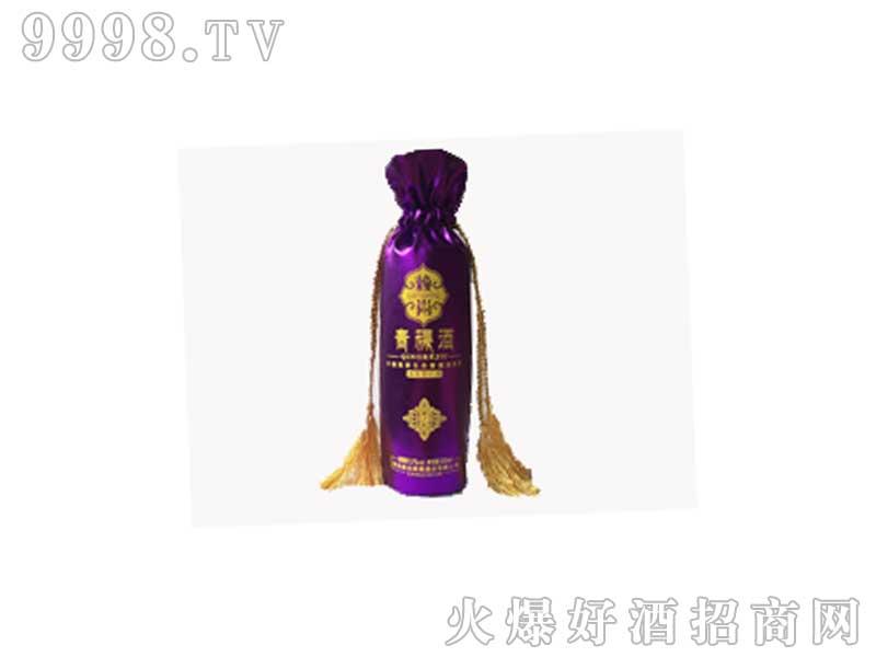 赖尚青稞酒高原炫彩系列-紫彩